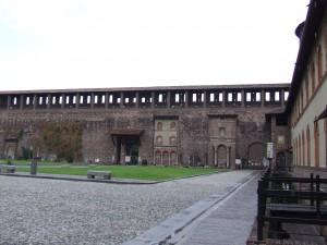 castelul sforza din milano2