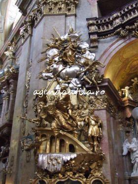 5 obiective turistice de vazut gratis in Viena:peterskirche viena4