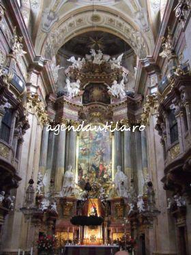 5 obiective turistice de vazut gratis in Viena:peterskirche viena5