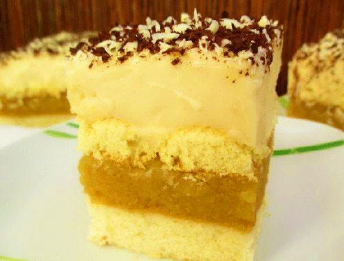 prajitura cu mere si crema de vanilie1