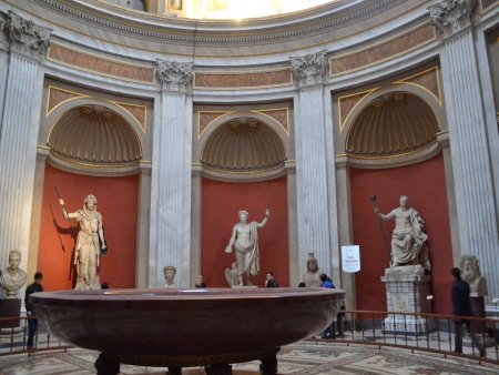 muzeele vaticanului m pio clementino