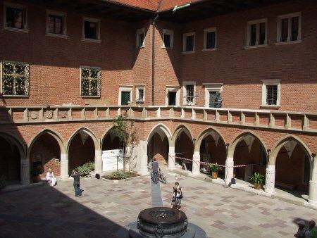 Obiective turistice Cracovia colegiul maius 1