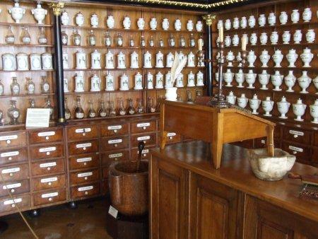 Obiective turistice Cracovia muzeul de farmacie 1