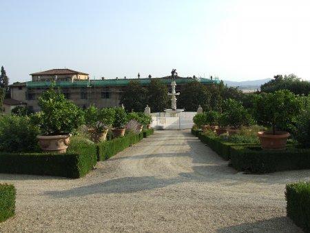 obiective turistice florenta gradina castello