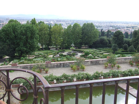 obiective turistice florenta petraia