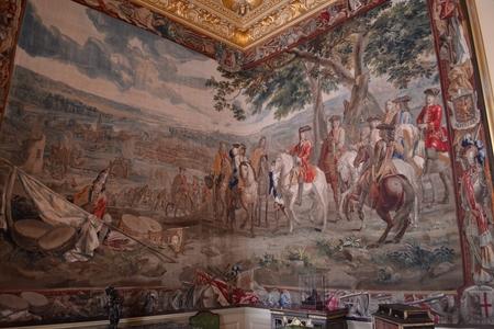palatul blenheim tur ghid saloane 2