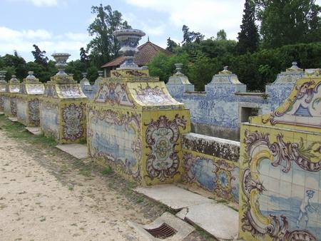 palatul queluz 6 gradina azulejo