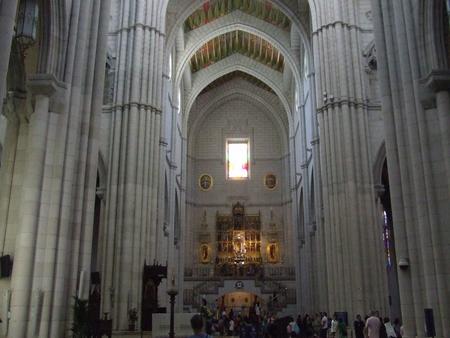10 obiective turistice din madrid catedrala