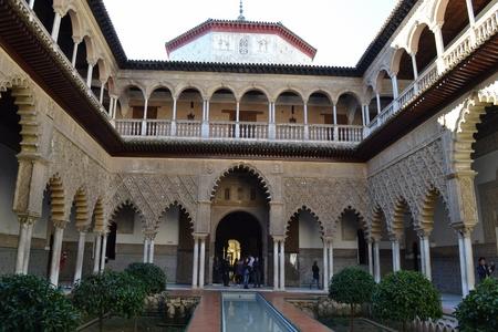 alcazar pa Sevilla obiective turistice