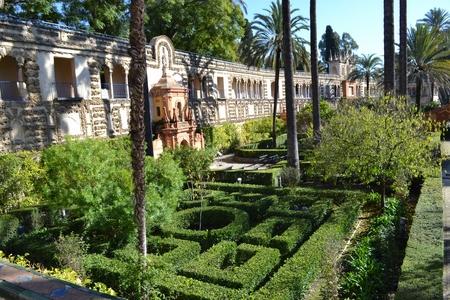 alcazar pal Sevilla obiective turistice