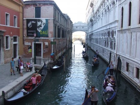 Atractii turistice in Venetia puntea suspinelor