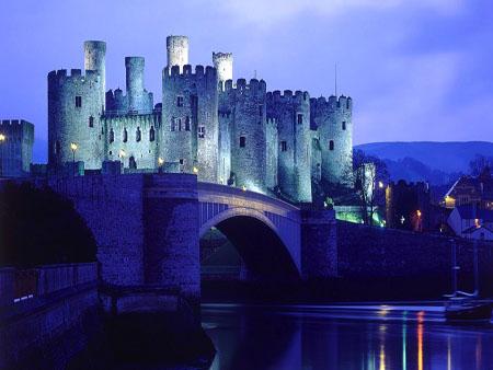 5 Castele medievale de poveste din Tara Galilor conwy