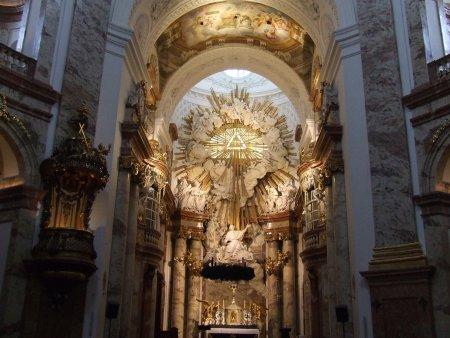 karlskirke 2 city break la Viena