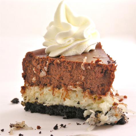 Cheesecake cu cocos si ciocolata
