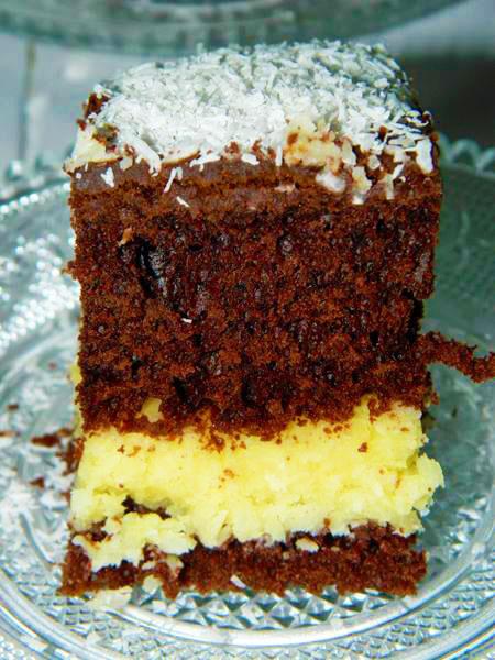 prajitura cu crema de cocos si vanilie1
