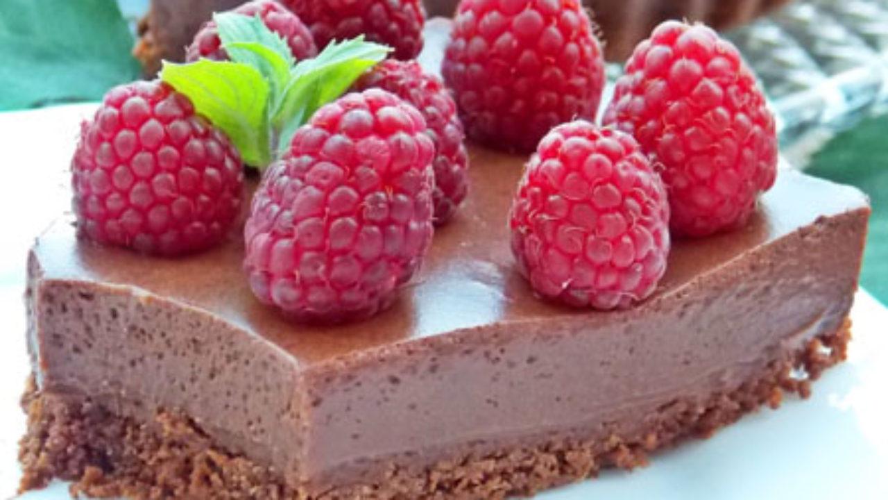 Tarta cu ciocolata fara coacere
