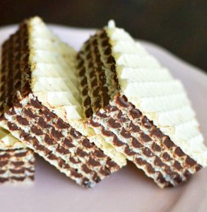 Napolitane de post cu cacao